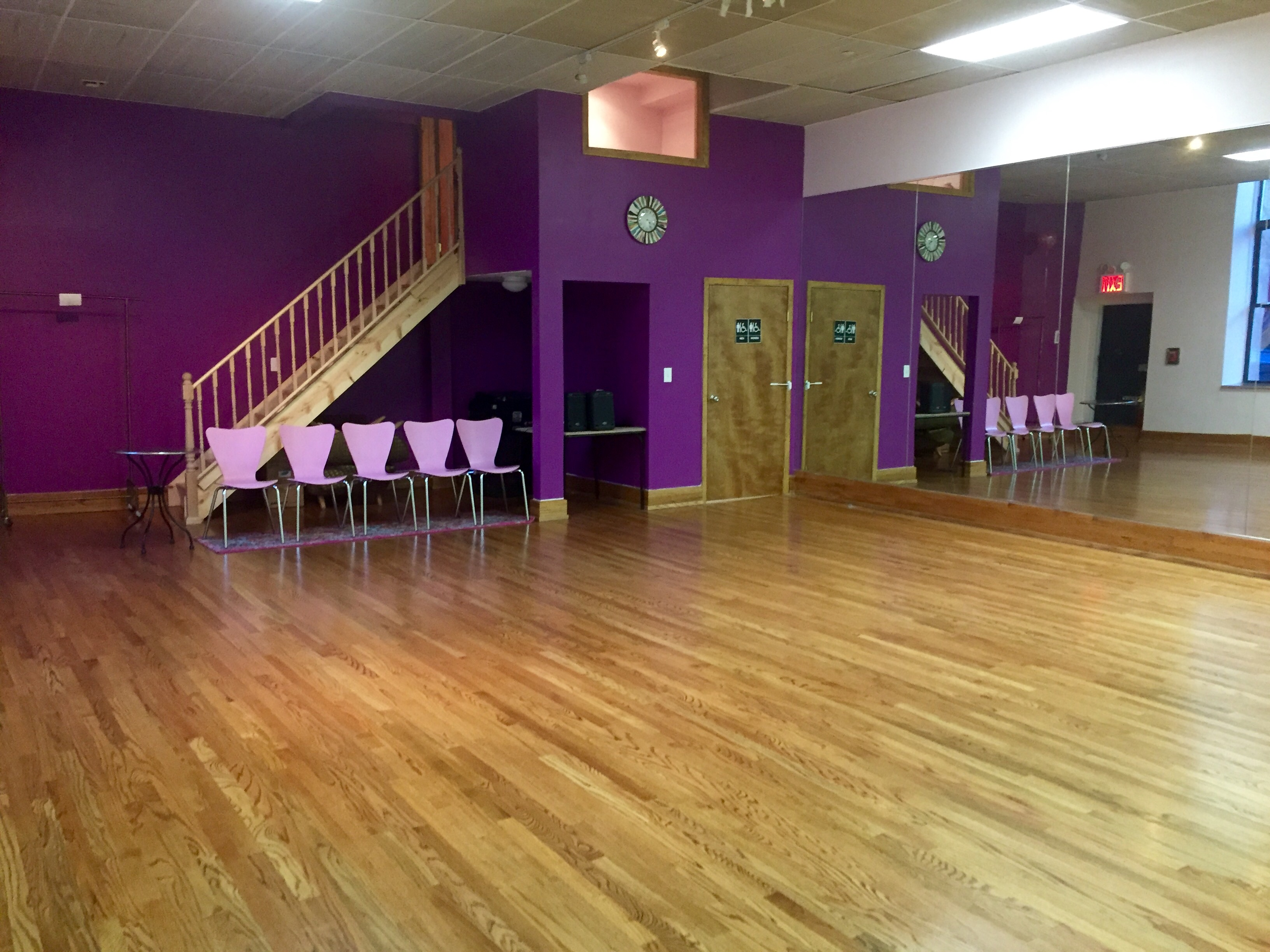Rehearsal Space Rental NYC. 2nd Floor Dance Studio Spaces. Space ...
