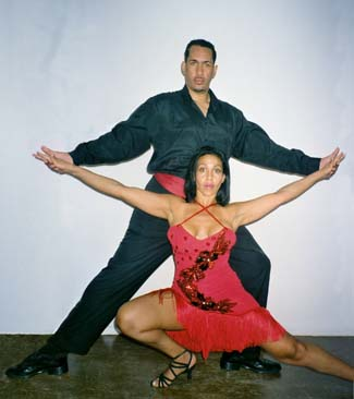 Salsa & Hustle lessons in NY with David Padilla at Dance Manhattan