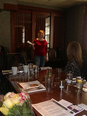 Garden City Treemendous Florist presents at Business networking Long Island NY - Events in Garden City NY