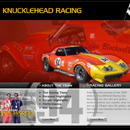 Business Website Design Long Island & Business Website Developer Long Island GreatWebsitesNow.com � Client  for Design: Knucklehead Racing. One of 3 proposal mockups for Profassional Racing Team , Canadian Circuit. Designed by Graphics Design Team Long Island for GreatWebsitesNow.com, Long Island NY.